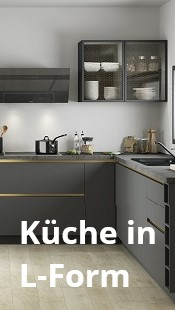 Küche in L-Form