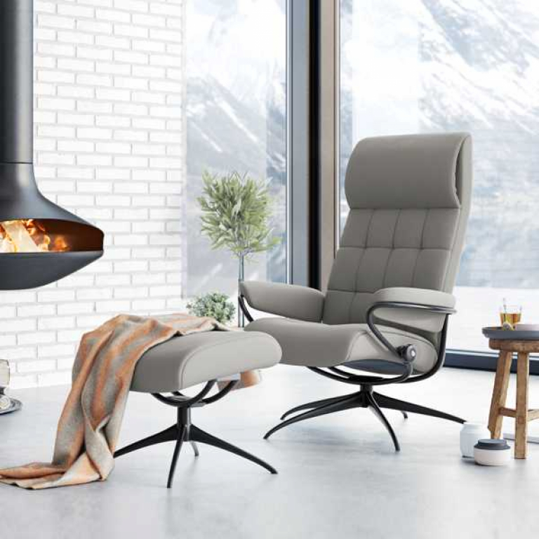 Stressless_London hb_Black_in Paloma Silver Grey_mehr2